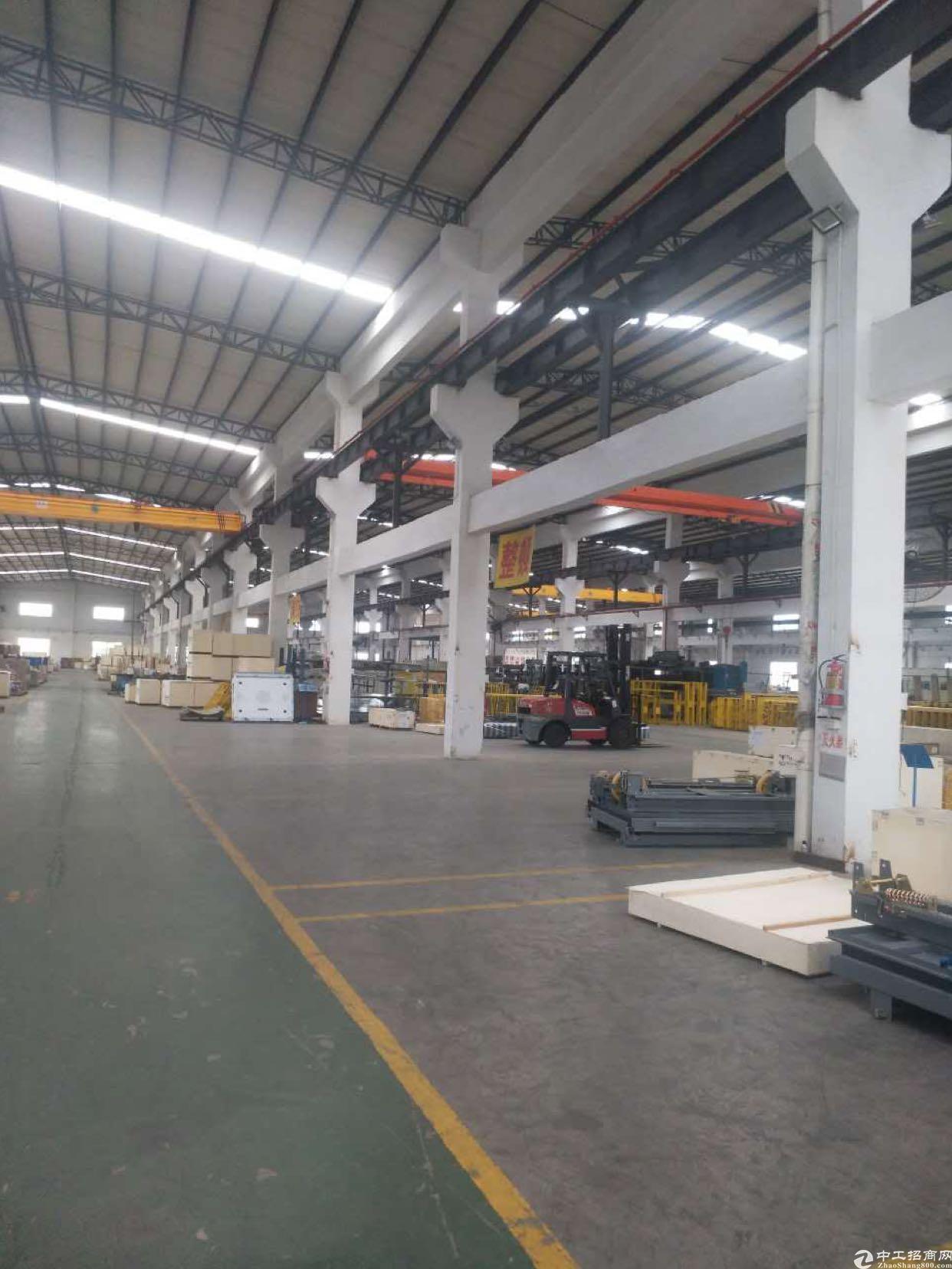 宝安区松岗镇一楼10000平方米重工业钢构厂房出租-图3
