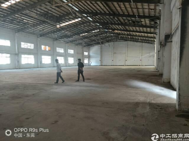 大岭山新出原房东实际面积可做污染行业厂房14000平方分租