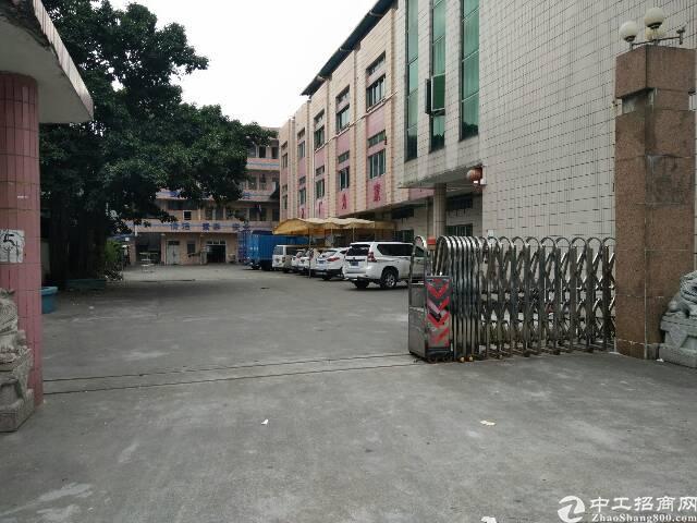茶山镇塘角工业区独院标准厂房7500平方出租