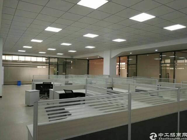 公明长圳独栋厂房4088平方带办公室水电到位租18