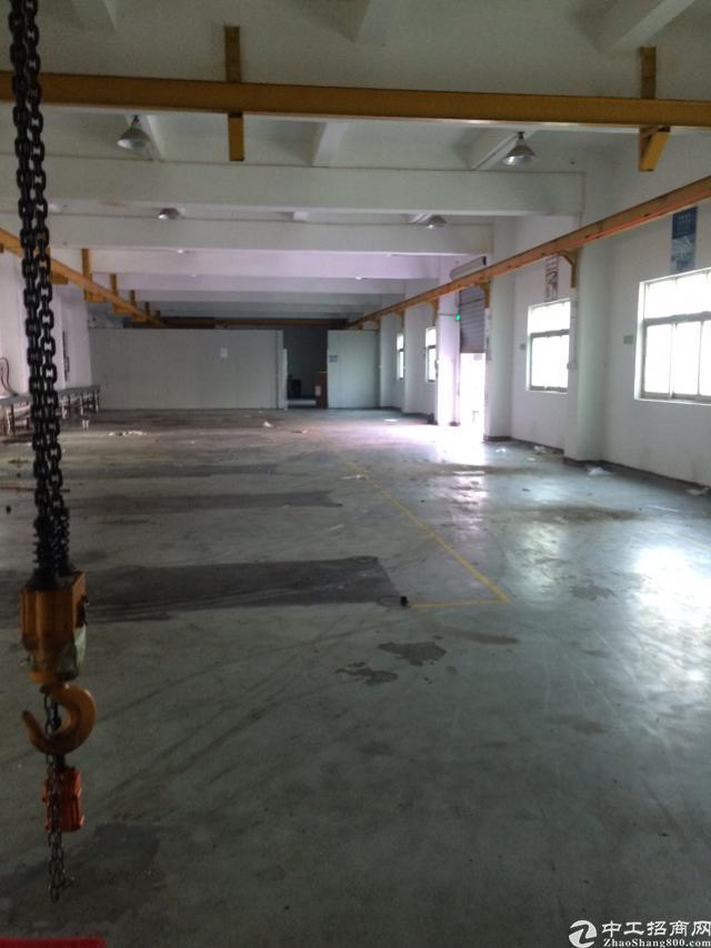横岗沙河路边独栋厂房3120平米出租