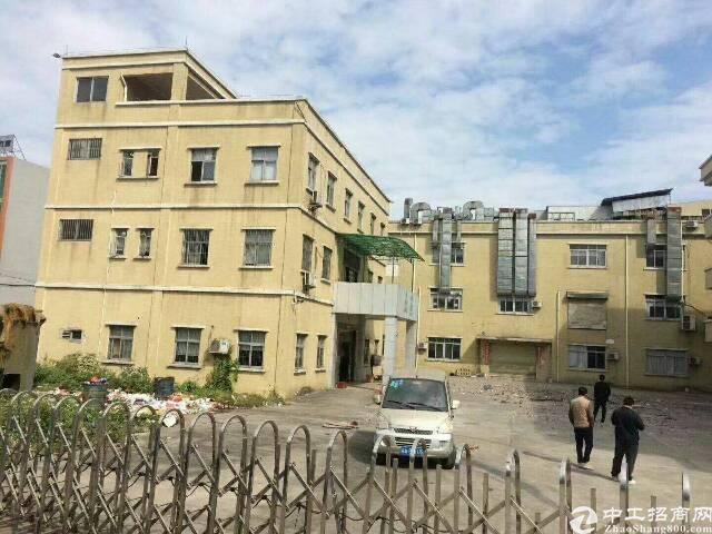 黄江田心公常路边新出独院厂房大小可分租可整租