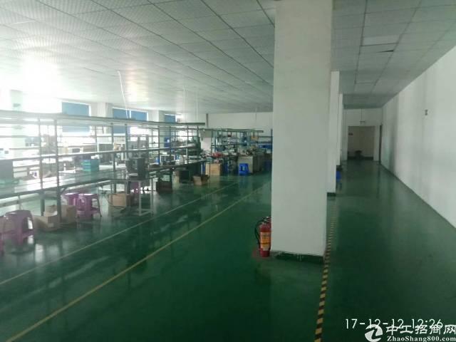 塘厦镇中心区域楼上1500平米带装修厂房