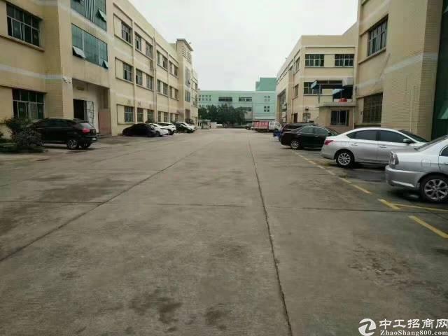 寮步西溪工业园厂房楼上1800平厂房出租