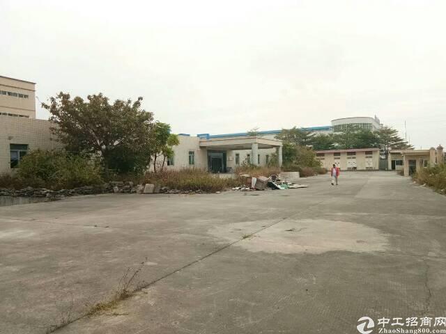 清溪镇新出独栋厂房8600平方一楼高6.5米