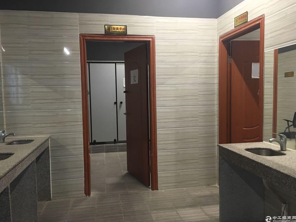 龙华地铁口精装修办公室单层面积700平