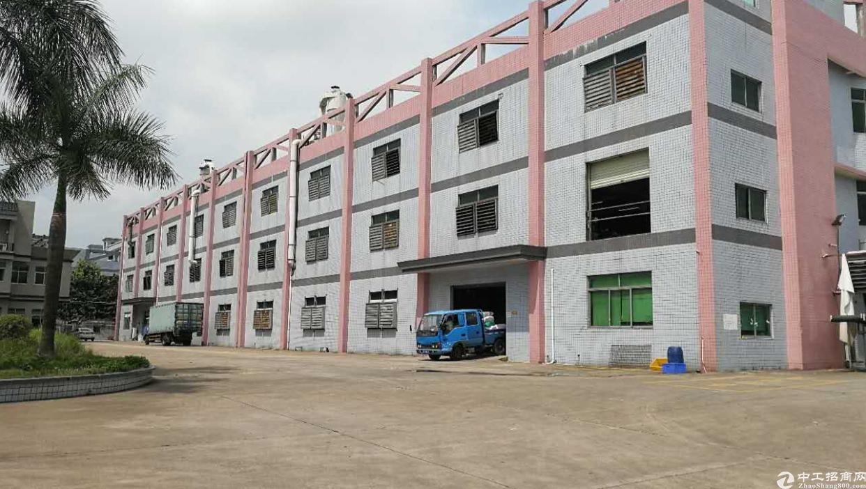 虎门怀德原房东独院厂房实际面积出租5000平方、带装修水电