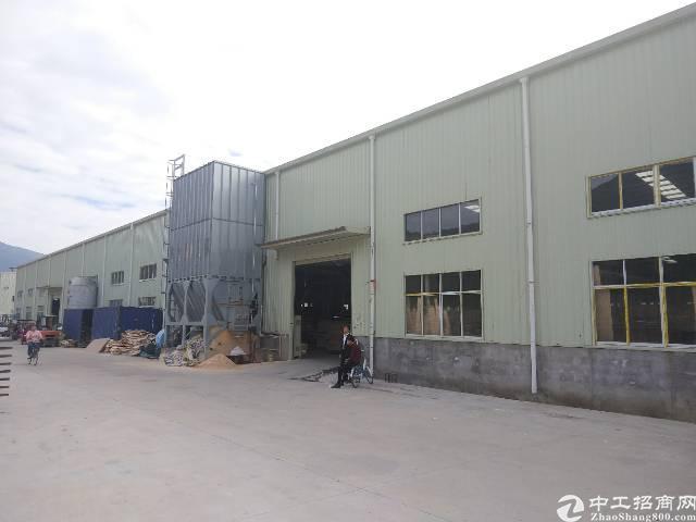 惠州村委滴水8米带中央吸尘器钢构厂房出租