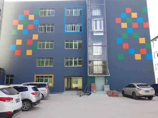 沙井新出东环路边厂房1~5层1800平方,可分组