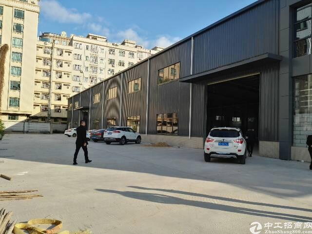 东莞黄江靠深圳漂亮钢构3000平米出租