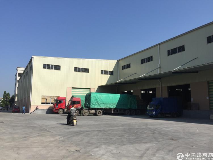 新塘荔新大道旁标准物流仓62000平出租