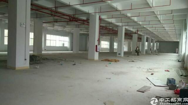 黄江靠近深圳位置现有原房东全新独栋厂房可分租,空地大