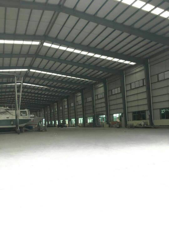 工业园分租单一层钢构厂房2500方