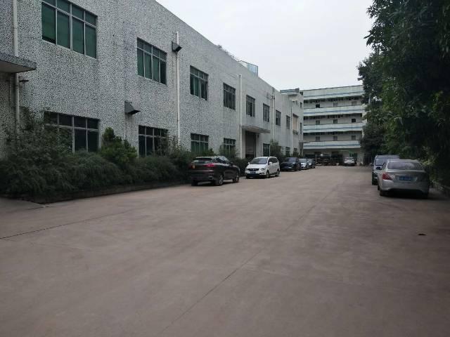 龙岗宝龙独院厂房6000平方带精装修,1楼6米高