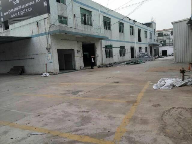 平湖华南城新木村两层独院3600平方厂房招租