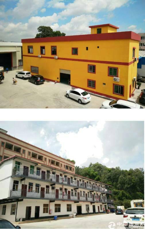 茶山镇占地 8000 ㎡小独院厂房出售