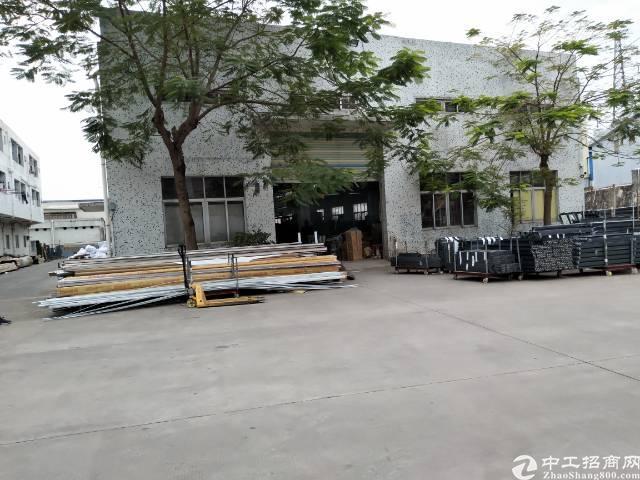 8米高钢构厂房1200平方出租-图2