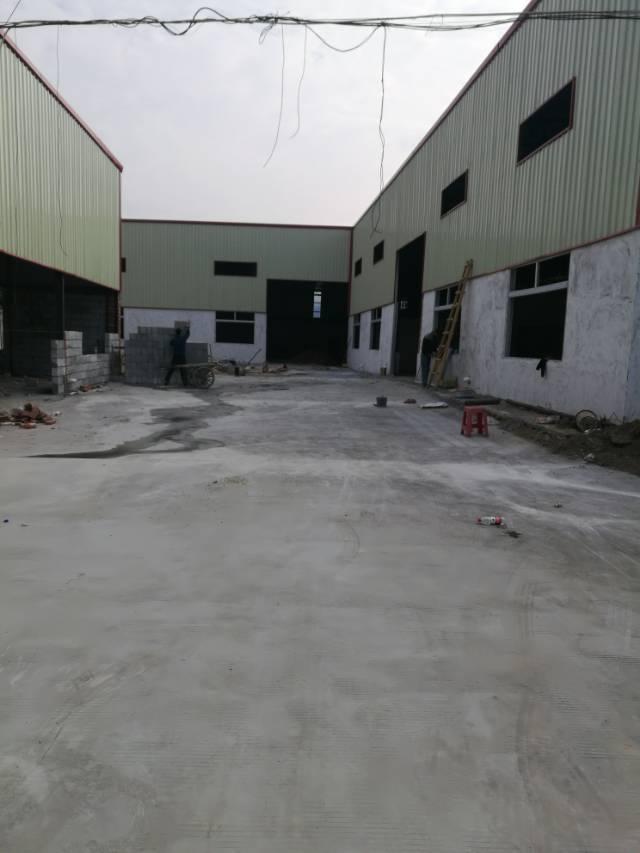 新出钢构 厂房3680平方 滴水7.5米, 报价18块