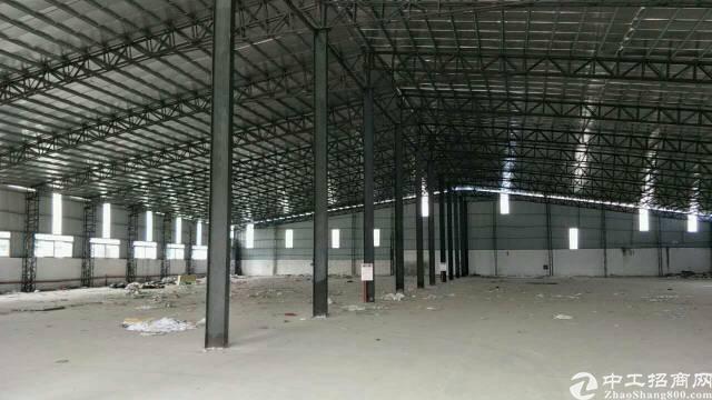 万江上甲6000平米,8米高单一层钢结构厂房