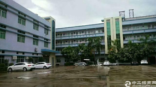 惠州市园洲镇独院标准厂房三层5600平方急租