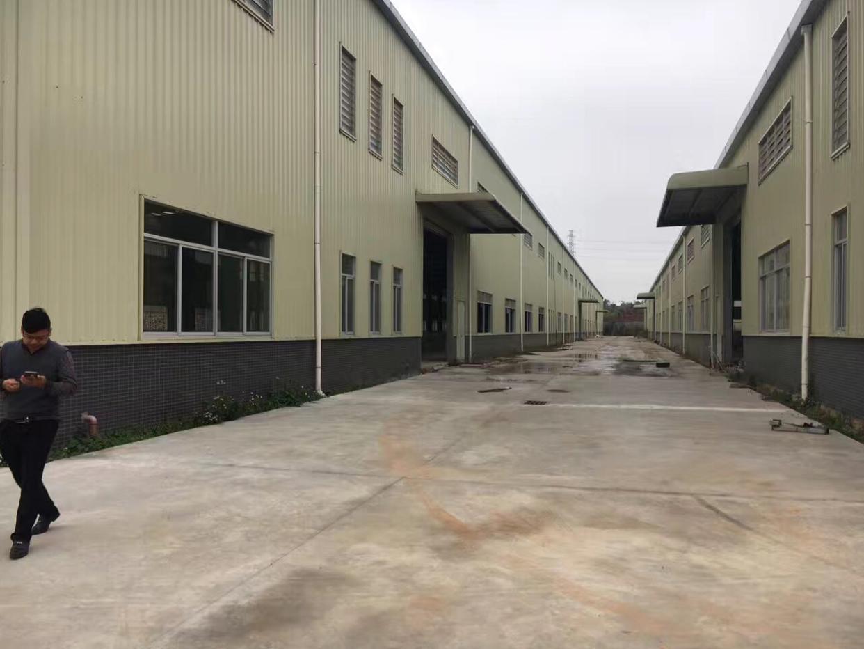 东莞市大朗镇独门独院单一层钢结构厂房靠近松山湖