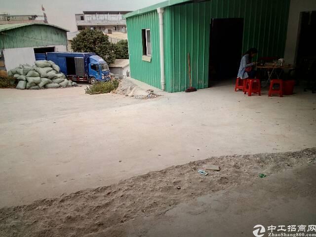 大朗镇新出独院铁皮厂房招租