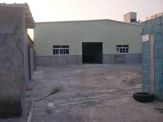 横沥镇 村委书记500㎡独院钢构厂房 滴水6.5米带牛角