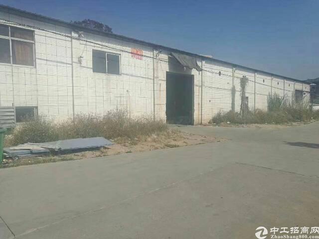 大岭山镇颜屋村出租独栋铁皮厂房3000平。