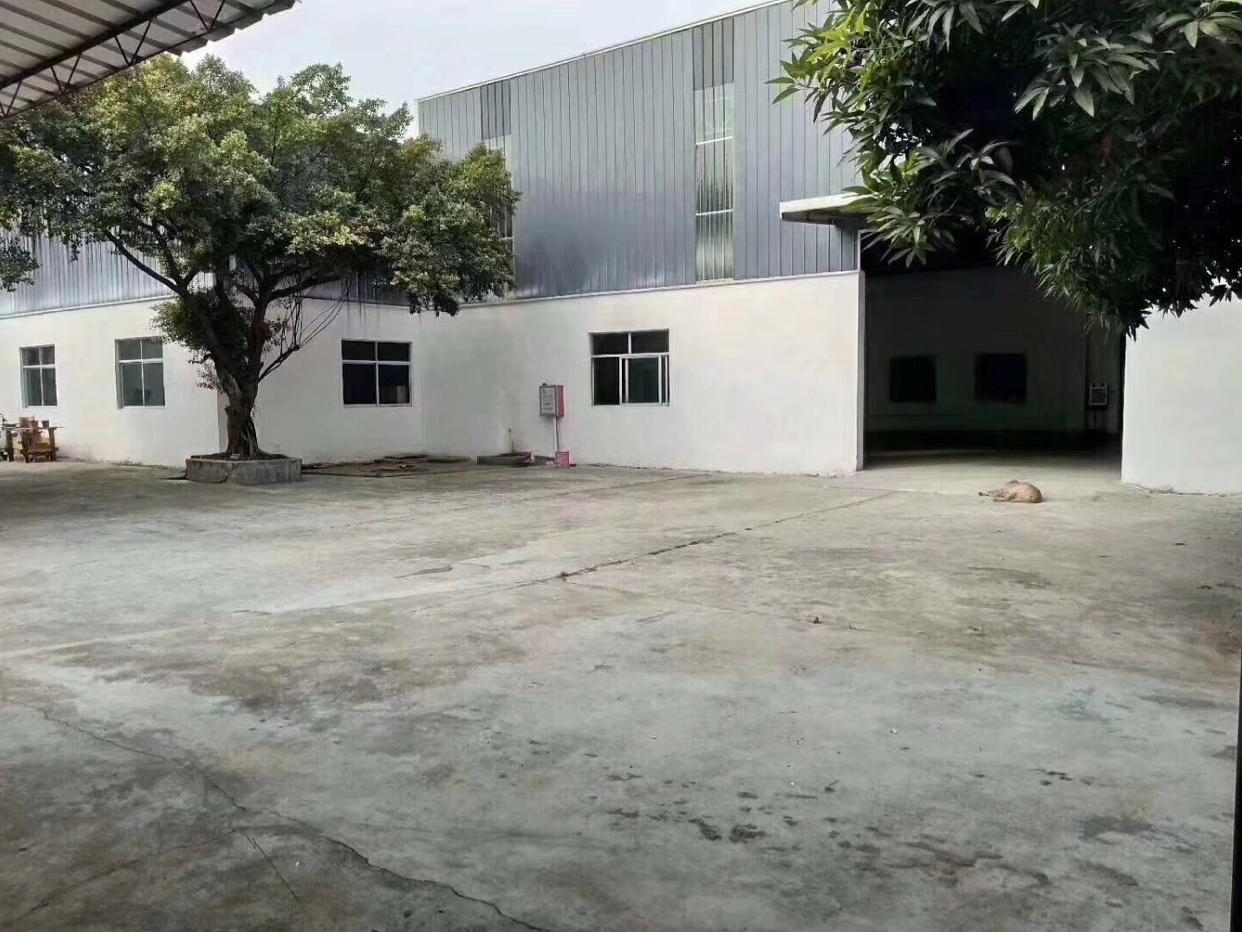 万江单一层独院厂房1F4500平米,宿舍+办公1000平米