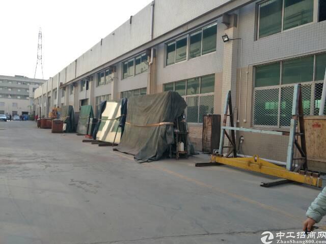 【电老虎】松岗独院钢构厂房2700平米出租