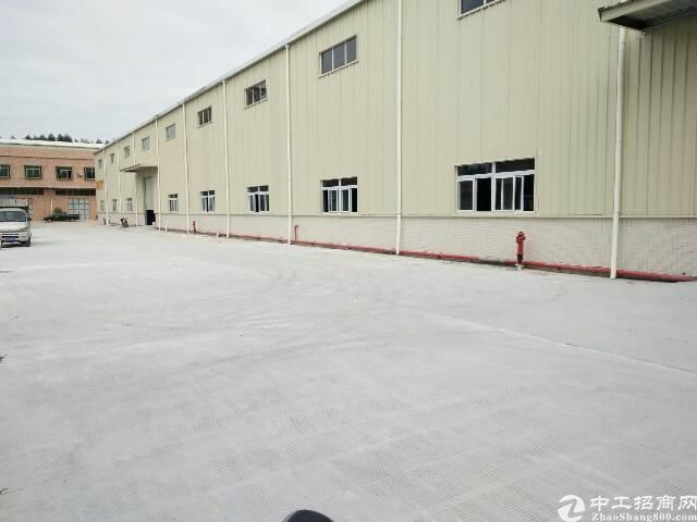 东莞寮步独院单一层钢构厂房带蒸汽14000平方出租可分租