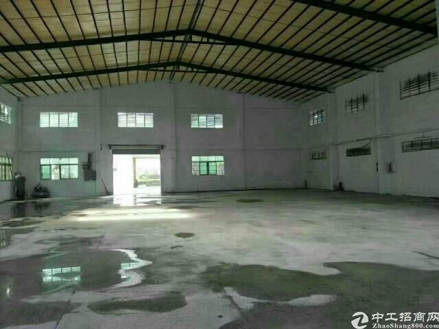 黄江镇原房东2100平方钢构独院招租