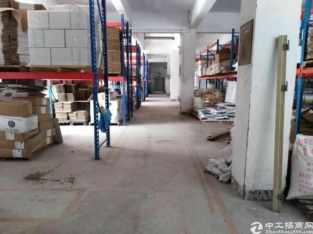 沙井步涌工业区1到3层独门独院厂房3650平方出租。