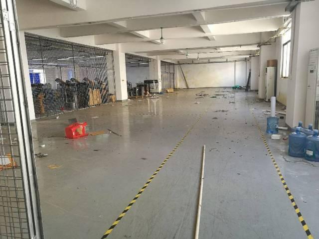 沙井东部东环路边楼上1500平方招租