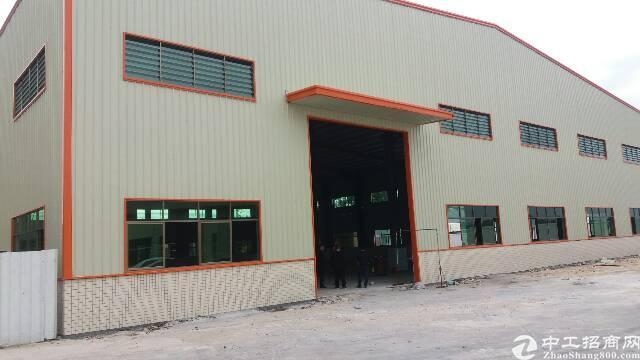 独院8米高钢厂房2000平方米出租