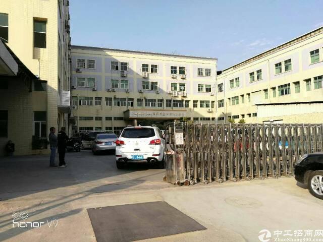 松岗燕川原房东独栋厂房1-3层6000平方