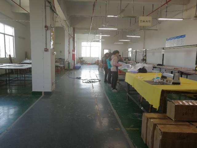 龙华新区大富工业园区三楼3180平方带精装修