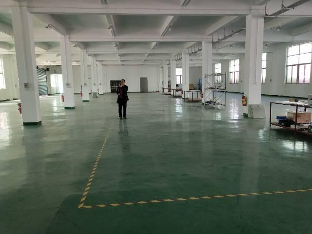 虎门北栅新出一楼2000平方,带地坪漆高度5米,带办公室装修-图2