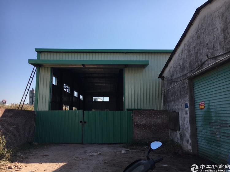 常平镇6米高1500平方新建钢构厂房出租