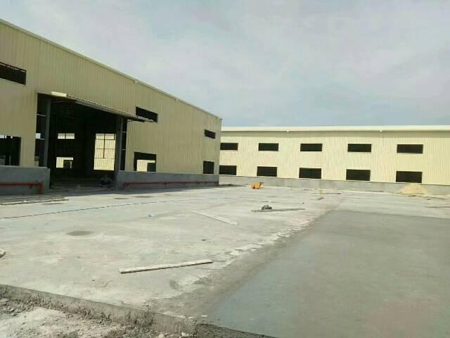 茶山9成新钢构厂房2100平方