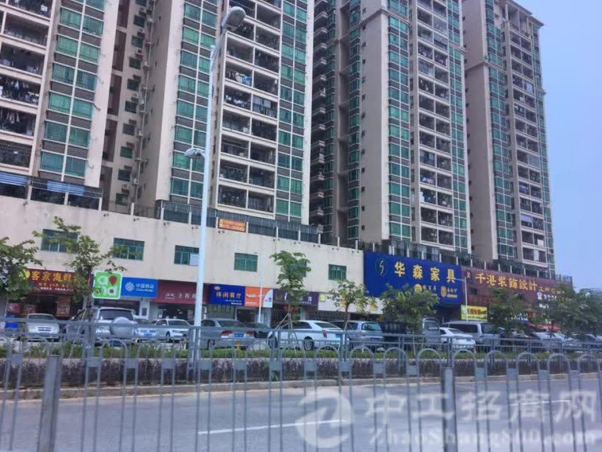 松岗佳华商场旁1至4层总面积468平方出租