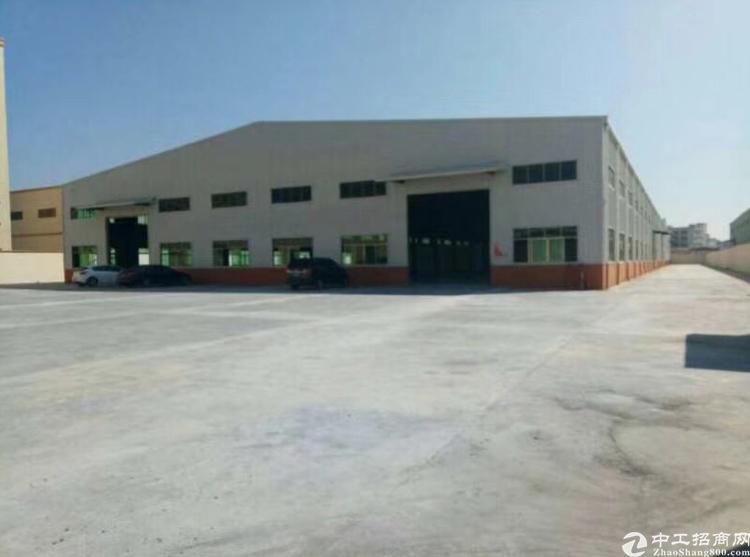 惠阳秋长新出独院单一层钢构厂房6900平方,可分租