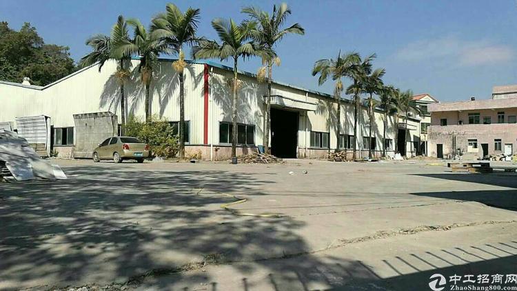 恵州柏塘镇原房栋厂房单一层3665平方8米高