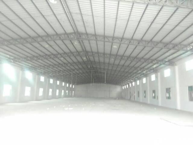 坑梓新出4000平钢构厂房滴水8米低价出租