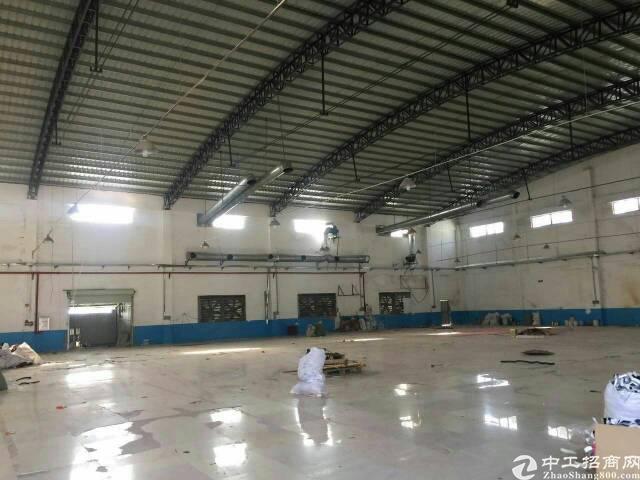 虎门镇靠近沙田独院厂房一层的1850平米,宿舍办公600平米-图3