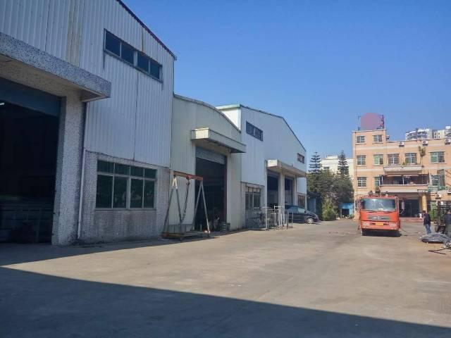 大岭山   单一层钢构厂房5300平独院招租