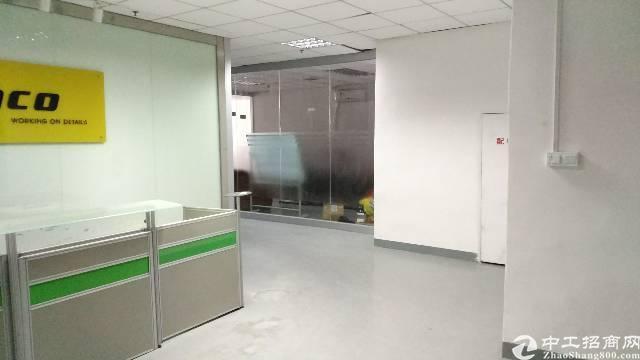 沙井新桥高速出口路边三楼2000平方带装修厂房招租-图5