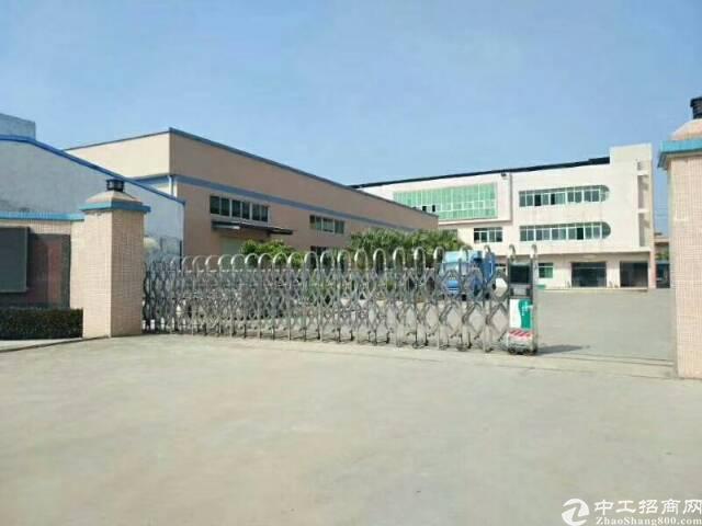 黄江镇靠公明新出独院厂房出租