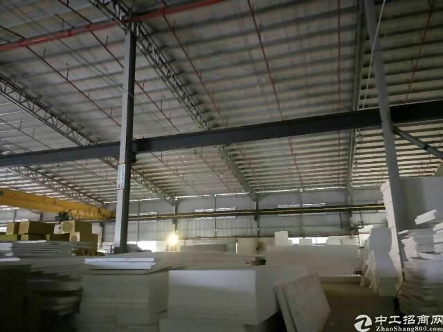高埗镇工业区独门独院单一层钢构厂房2400平米出租-图2