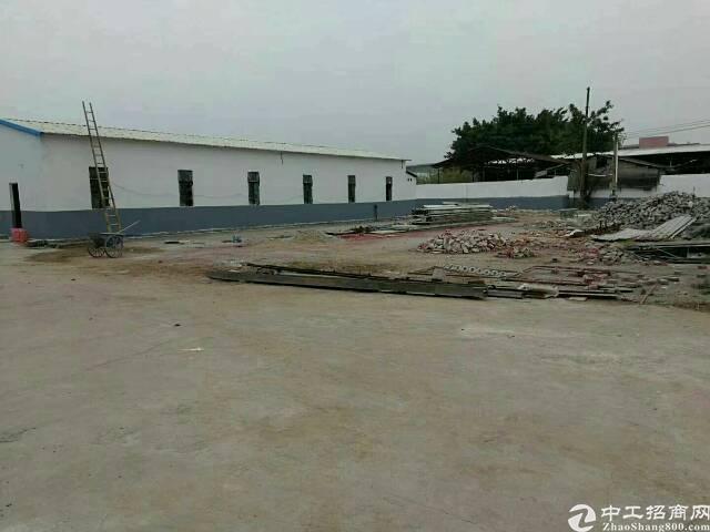 中堂镇干道边全新独门独院单一层厂房2200平出租